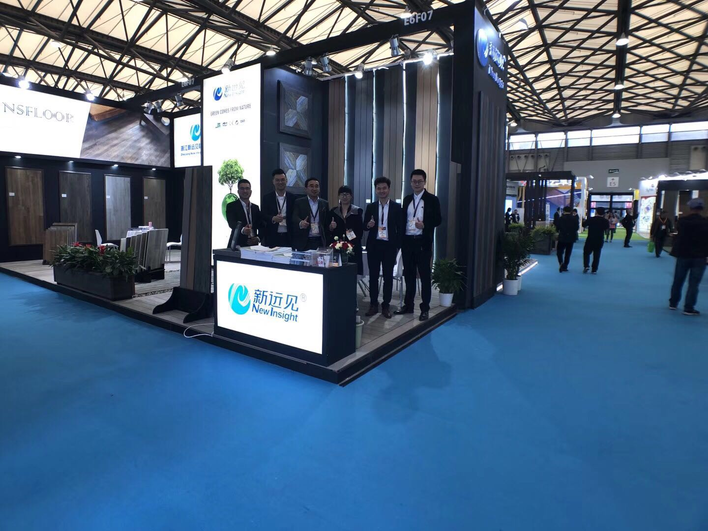 New Insight attended 2019 Domotex Asia Chinafloor in Shanghai!