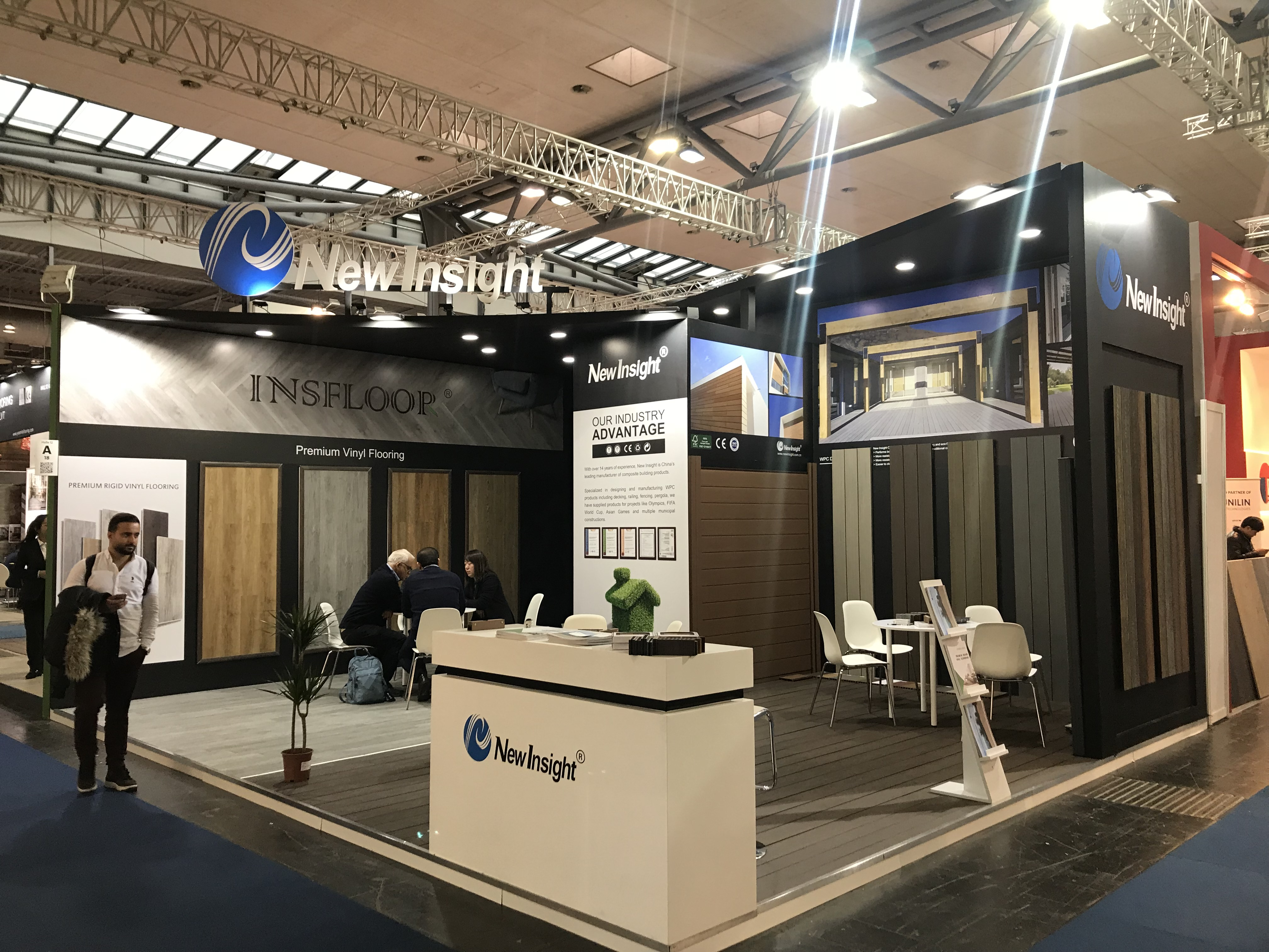 New Insight attended Domotex in Hannover!